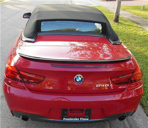 2012-2017 BMW 6-Series Convertible Factory M6 Style Rear