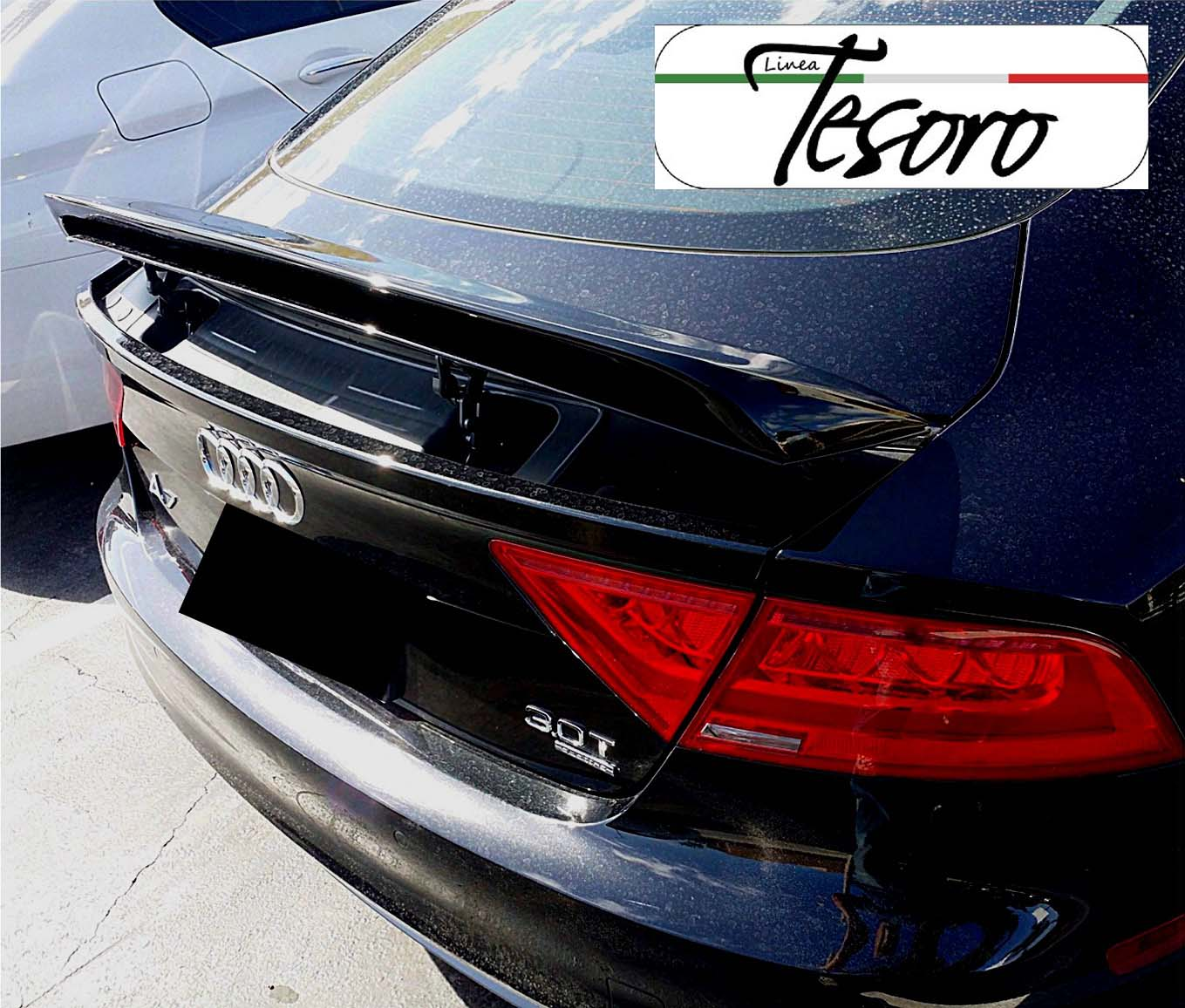 2010-2017 AUDI A7 / S7 / RS Tesoro Style Rear Trunk Wing