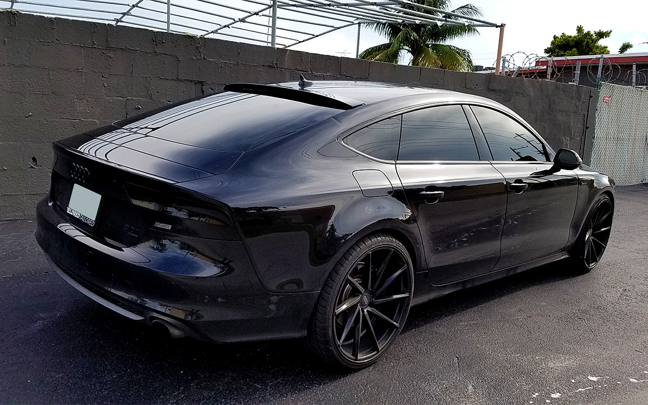 2010 2017 audi a7 s7 rs7 tesoro xl roof spoiler. Black Bedroom Furniture Sets. Home Design Ideas