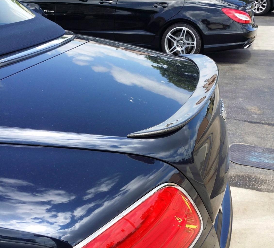 2012-2015 Bentley Continental GTC Sport Style Rear Lip Spoiler