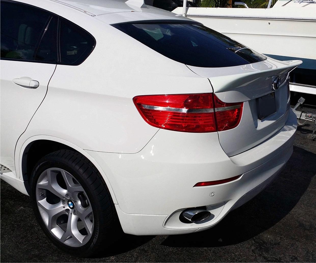Bmw X6 Usa: 2008-2013 BMW X6 ACS Style Rear Lip Spoiler
