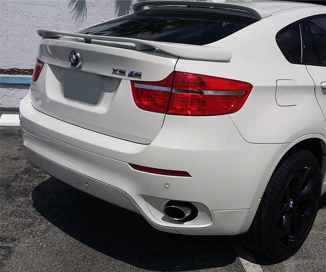 Bmw X6 Reviews: 2008-2013 BMW X6 H-Style 3 Post Rear Wing Spoiler