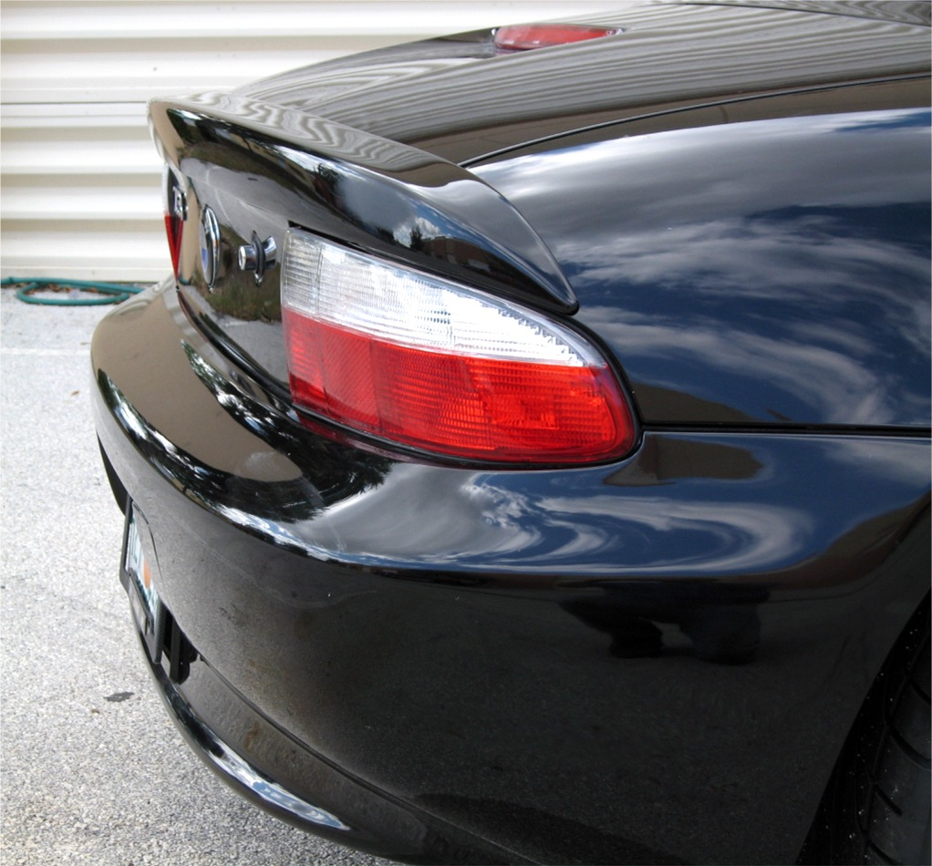 1996 1999 Bmw Z3 Roadster Factory Style Rear Lip Spoiler
