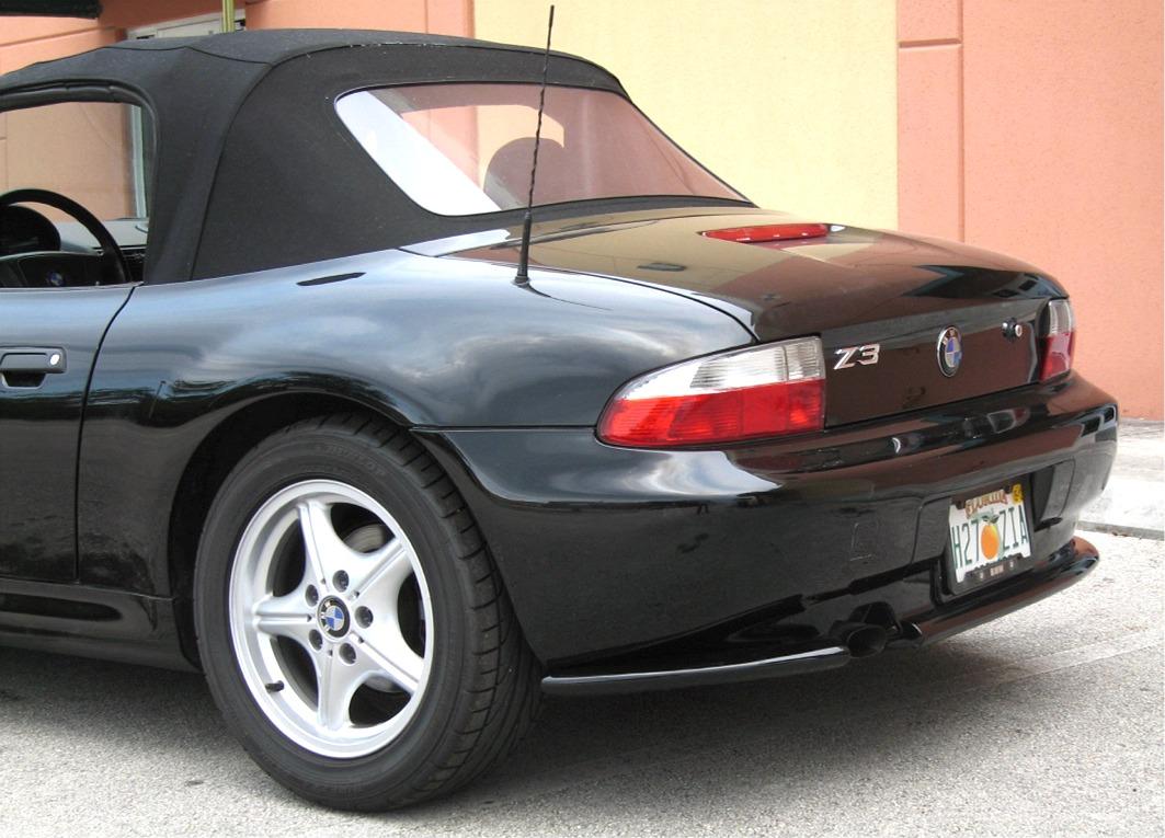 1996 1999 Bmw Z3 Roadster Acs Style 2pc Rear Bumper Skirts