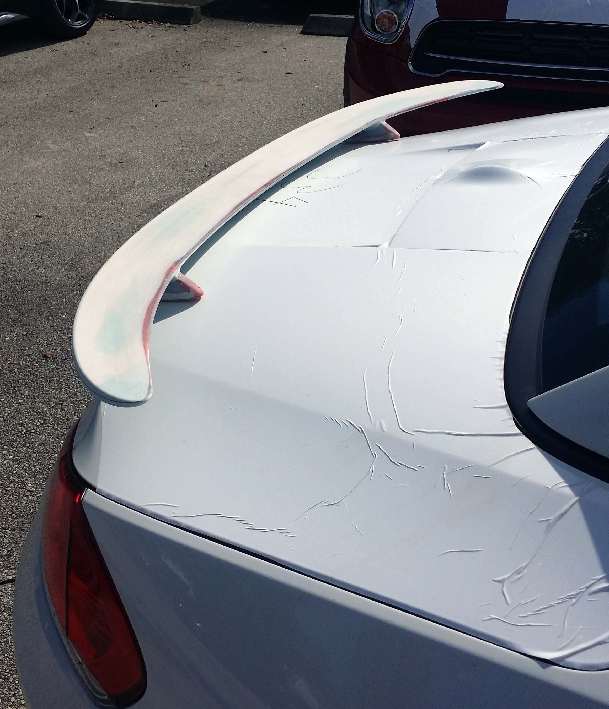 2009 Bmw Z4: 2009+ BMW Z4 Euro Style 2 Post Rear Wing Spoiler