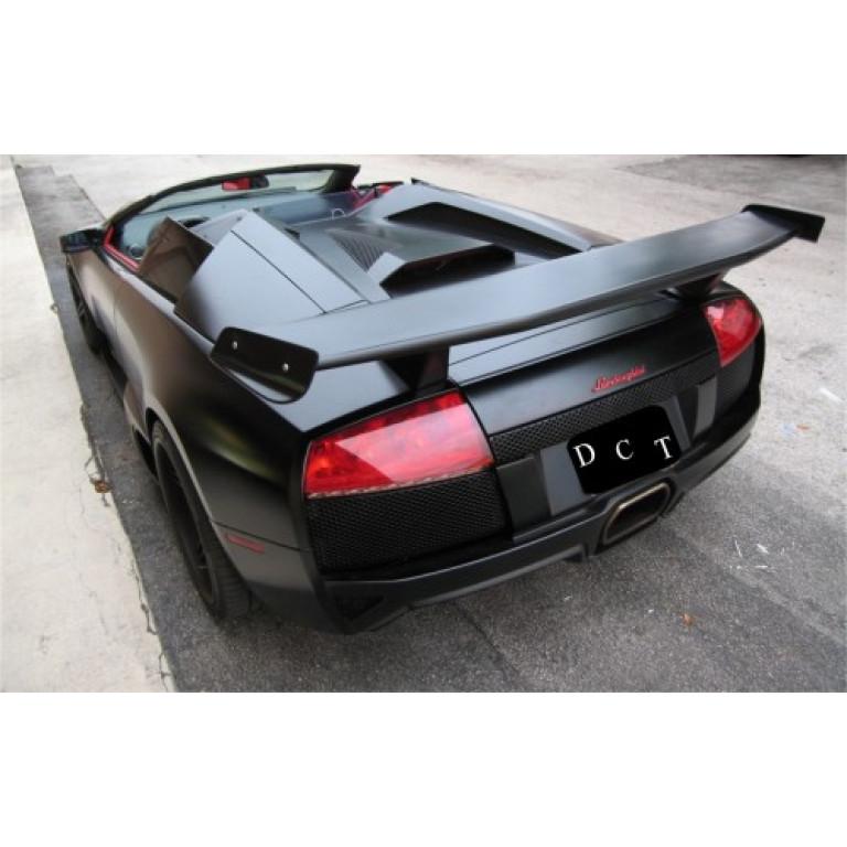 2001 2010 Lamborghini Murcielago Ms Style Rear Wing Spoiler 5