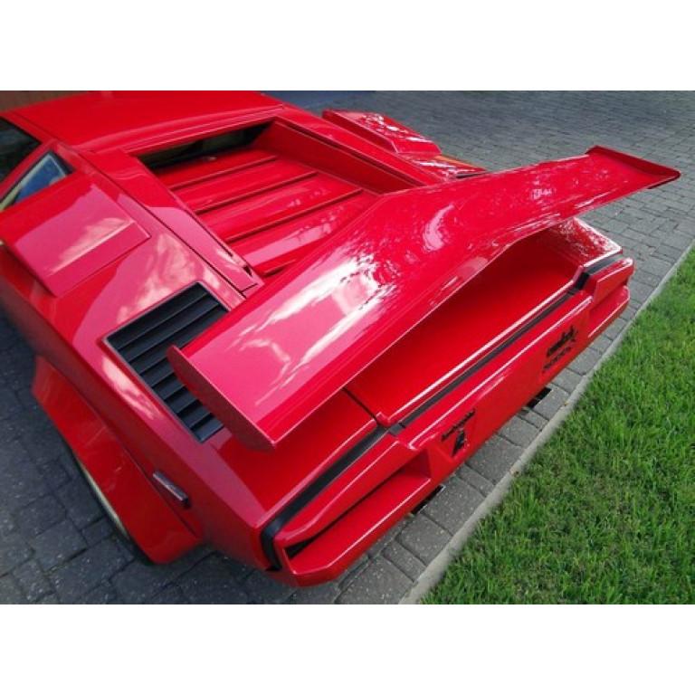 1974 1990 Lamborghini Countach Factory Style Rear Wing Spoiler
