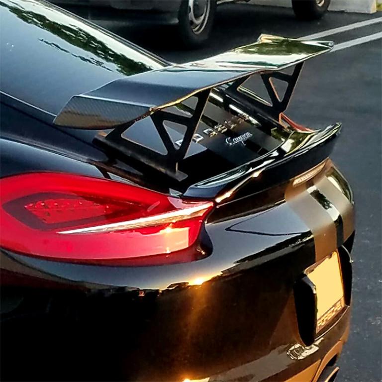 2013 2016 Porsche Cayman Gt Style Rear Wing Spoiler