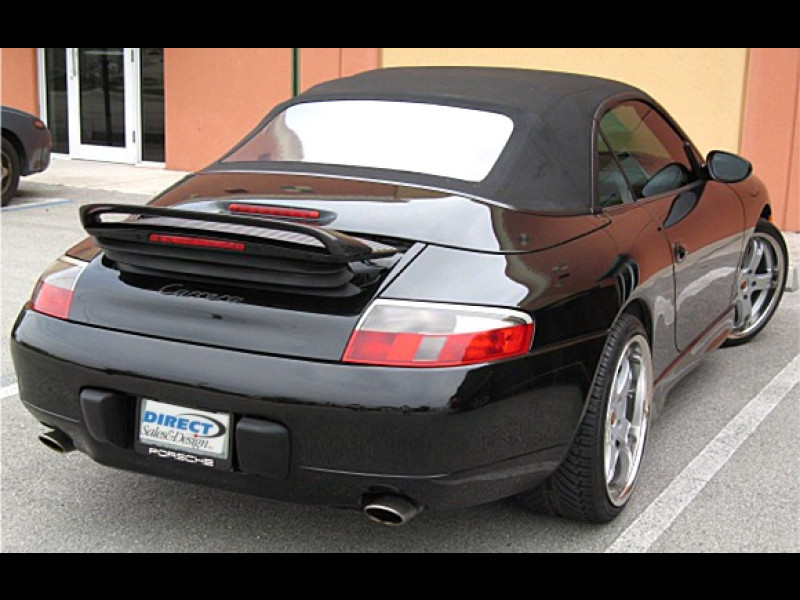 1997 2004 porsche 911 996 euro style rear wing spoiler. Black Bedroom Furniture Sets. Home Design Ideas