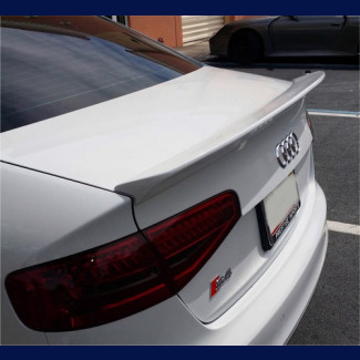 2009-2014 Audi A4 S4 Euro Style Rear Lip Spoiler