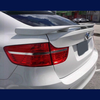 2008-2013 BMW X6 H-Style 3 Post Rear Wing Spoiler