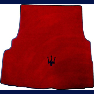 2014-2017 Maserati Ghibli German Velour Rear Trunk Mat