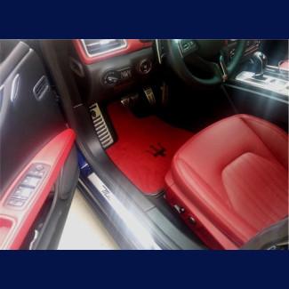 2014-2017 Maserati Ghibli German Velour Front Floor Mats