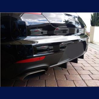 2014-2016 Porsche Panamera Euro Style Rear Bumper Diffuser