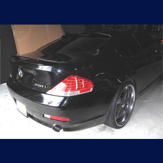 2004-2011 BMW 6-Series Coupe H-Style 2 Post Rear Wing Spoiler