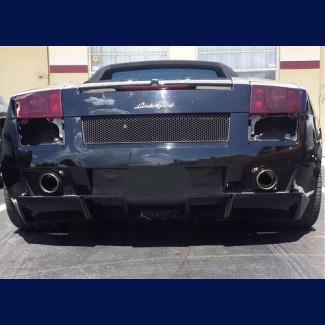 2003-2008 Lamborghini Gallardo SL Style Rear Bumper Diffuser Valance