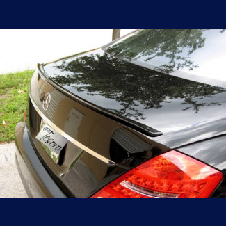 2007-2012 Mercedes S-Class Tuner Style Rear Lip Spoiler