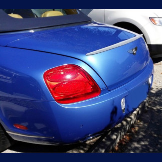 2012-2015  Bentley Continental GTC Factory Style Rear Lip Spoiler