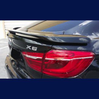 2014-2017 BMW X6 H-Style 3 Post Rear Wing Spoiler