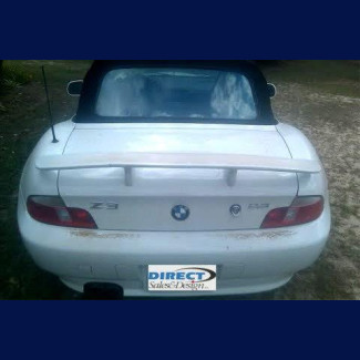 1996-2002 BMW Z3 Euro Style 2 post Rear Wing Spoiler