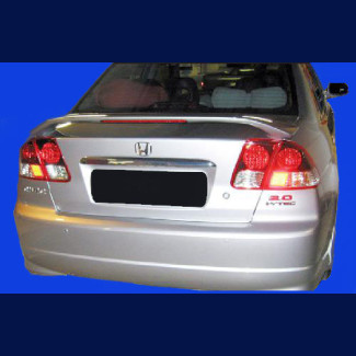 2001-2005 Honda Civic Sedan Factory Style Rear Wing Spoiler w/Light