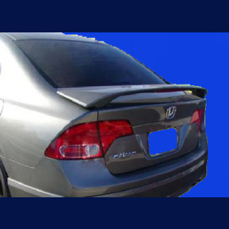 2006-2011 Honda Civic Sedan Factory Style Rear Wing Spoiler w/Light
