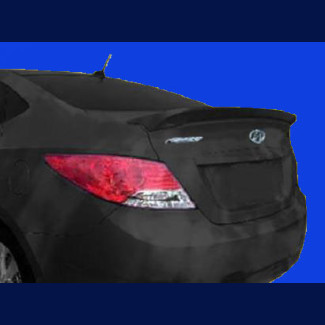 2012-2016 Hyundai Accent Factory Style Rear Lip Flush Mount Spoiler