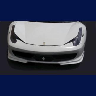 2010-2015 Ferrari 458 Italia Linea Tesoro 2pc Front Lip  Spoiler
