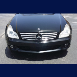 2005-2009 Mercedes Benz CLS EURO Style Front Lip Spoiler
