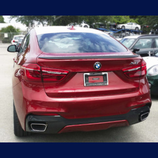 2015-2017 BMW X6 Tuner Style Rear Lip Spoiler