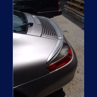1998-2004 Porsche 911 / 996 Coupe Euro Style Rear 3pc Trunk Lip Spoiler