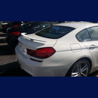2012-2017 BMW 6-Series Coupe Euro Style 2 Post Rear Wing Spoiler