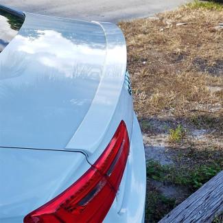 2011-2017 Audi A6 Sedan Sport Style Rear Trunk Lip Spoiler