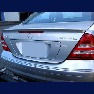 2001-2007 Mercedes C-Class AMG Style Rear Lip Spoiler
