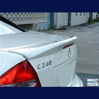 2001-2007 Mercedes C-Class Factory Sport Style Rear Lip Spoiler