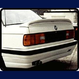 1984-1991 BMW 3-Series M-Tech Style 2pc Rear Wing Spoiler