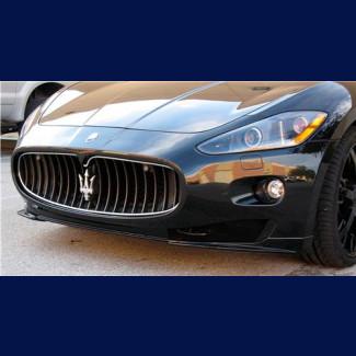 2007-2012 Maserati GranTurismo MC Sport Line-Style 2pc Front Lip Spoilers