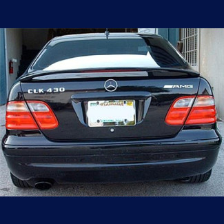 1998-2002 Mercedes CLK Coupe Euro Style Rear Wing Spoiler w/Brake Light