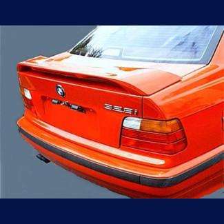 1992-1998 BMW 3-Series Sedan Factory Style M3 Rear Wing Spoiler w/Brake Light