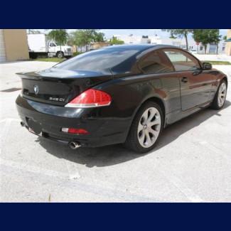 2004-2007 BMW 6-Series Coupe ACS Style Rear Lip Spoiler