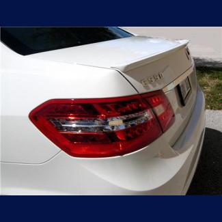 2010+ Mercedes E-Class Sedan Euro Style Rear Lip Spoiler