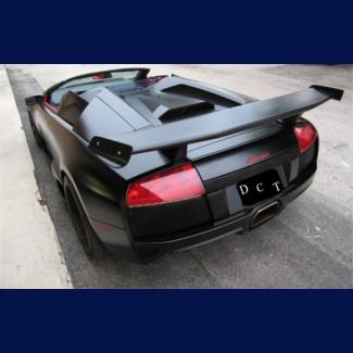 2001-2010 Lamborghini Murcielago MS-Style Rear Wing Spoiler (5 Piece With Winglets)