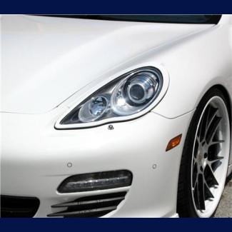 2010-2013 Porsche Panamera TA-Style Headlight Covers