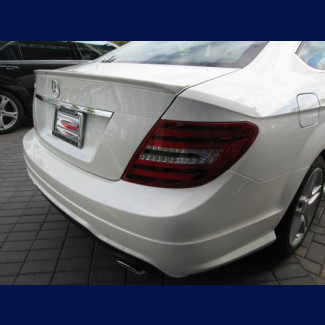 2012+ Mercedes C-Class Coupe AMG Style Rear Lip Spoiler