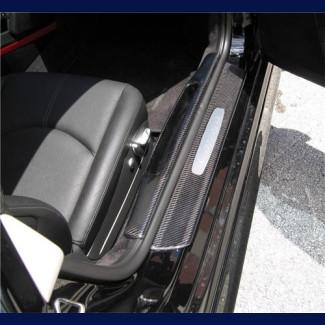 2005+ Porsche Boxster Real Carbon Fiber Complete Door Sill Set