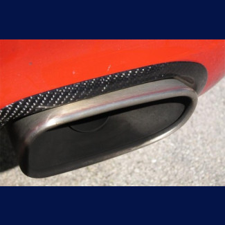 2005-2008 Porsche 911 / 997 2pc Real Carbon Fiber Exhaust Trim