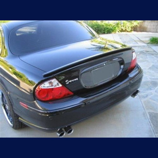 2000-2004 Jaguar S-Type Factory Style Type R  Rear Lip Spoiler