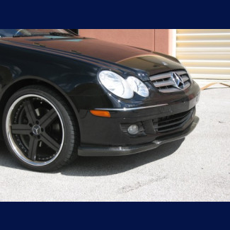 2006-2007 Mercedes CLK Euro Style Front Lip Spoiler