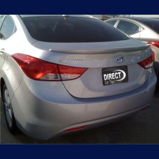 2011-2012 Hyundai Elantra Euro Style Rear Lip Spoiler