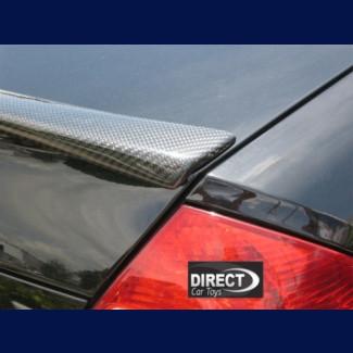 2003-2009 Mercedes E-Class Euro Style Carbon Fiber Rear Lip Spoiler